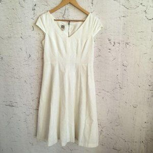 ANNE KLEIN WHITE DRESS 6